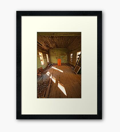Podium Framed Print