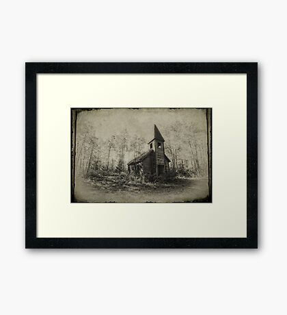 Estonian Lutheran Church Framed Print