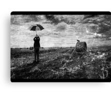 Waiting for an updraft Canvas Print