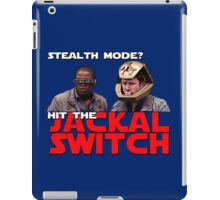 Hit the jackal switch! iPad Case/Skin