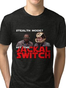 Hit the jackal switch! Tri-blend T-Shirt