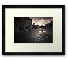 Queensgate Dawn Framed Print