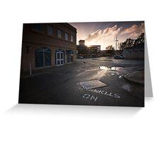 Queensgate Dawn Greeting Card