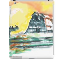 Scarecrow Welcomes the Morning iPad Case/Skin