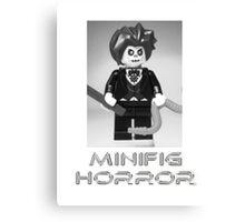 Minifig Horror - Evil Magician Custom Minifig Canvas Print