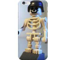 Skeleton Zombie Soldier with Custom Minifigure Helmet & Bazooka iPhone Case/Skin