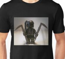 Custom Black Shadow Assassin Minifigure Unisex T-Shirt