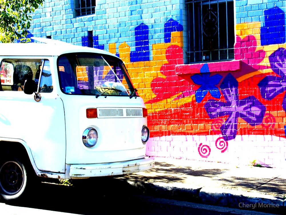 hippy van by Cheryl Morrice