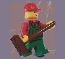 City 'Bert the Street Cleaner' Minifigure Kids Clothes