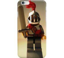 'Lion Knight Quarters' Minifigure  iPhone Case/Skin