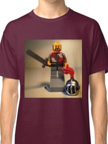 'Lion Knight Quarters' Minifig  Classic T-Shirt