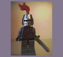 Lion Knight Minifigure, Armor with Lion Head and Belt Kids Clothes