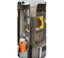 Private Public Telephone iPhone Case/Skin