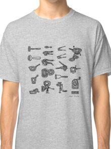 LINEart T-shirt : Adaptor Grinder  Classic T-Shirt