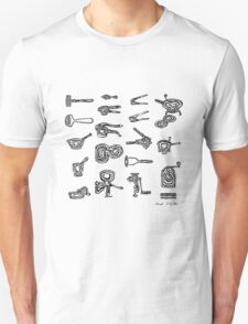 LINEart T-shirt : Adaptor Grinder  T-Shirt