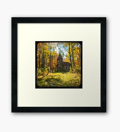 TtV Estonian Church Framed Print