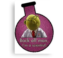 Dr. Bunsen Honeydew. Canvas Print