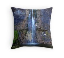 Hidden Waterfall at Cote Gill - Yorkshire Dales Throw Pillow