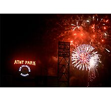 Fireworks - AT&T Park Photographic Print