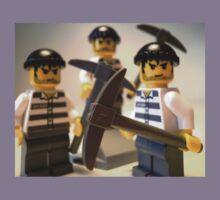 Convict Prisoner City Minifigure with Dynamite Sticks Kids Clothes