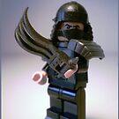 TMNT Teenage Mutant Ninja Turtles Master Shredder Custom Minifig by Chillee