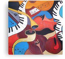 Music Medley Canvas Print