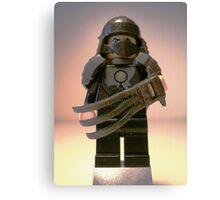 TMNT Teenage Mutant Ninja Turtles Master Shredder Custom Minifigure 'Customize My Minifig' Canvas Print