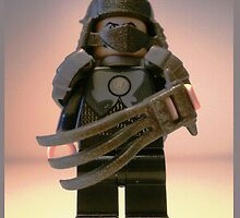 TMNT Teenage Mutant Ninja Turtles Master Shredder Custom Minifigure 'Customize My Minifig' by Customize My Minifig