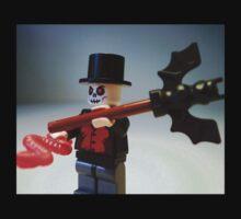 Voodoo Priest / Witch Doctor Zombie Custom Minifigure Kids Tee