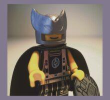 Captain Vortex in Black & Silver Costume and Cape Kids Clothes