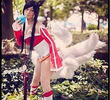 Ahri Classic Cosplay - League of Legends by mengjia
