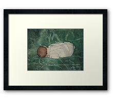 Hairs of Your Head Framed Print