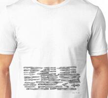 LINEart T-shirt: Lens-Knife Unisex T-Shirt