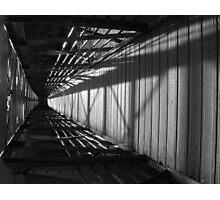 Flipped Bridge Photographic Print