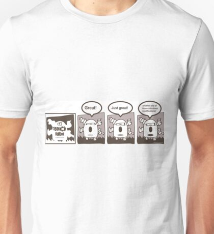 Tentacle Robot Story - Modifications Unisex T-Shirt