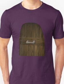 Glitch Groddle Land door asset community machine room ext T-Shirt