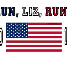 RUN, LIZ, RUN!  Elizabeth Warren for President! by Kricket-Kountry