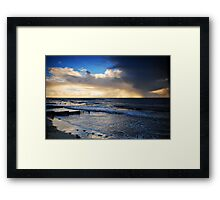 Rainy Sunset Framed Print