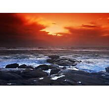 Red Storm Rising Photographic Print