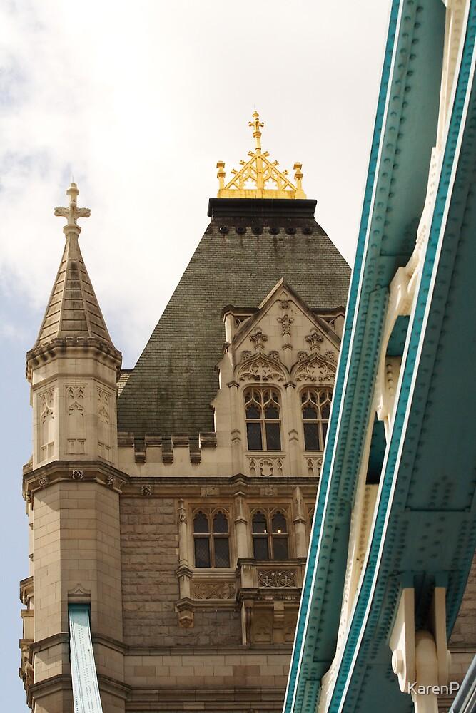 Tower Bridge looking up by KarenP