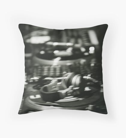 Where are the DJs? Throw Pillow