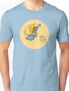 Deal With It Illustration Unisex T-Shirt