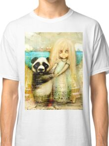 Panda and Snowdrop Classic T-Shirt