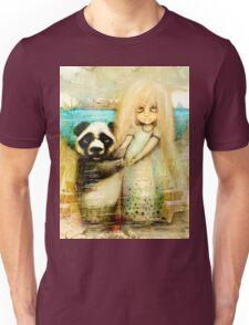 Panda and Snowdrop Unisex T-Shirt