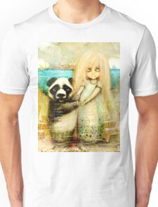 Panda and Snowdrop Unisex T-Shirt