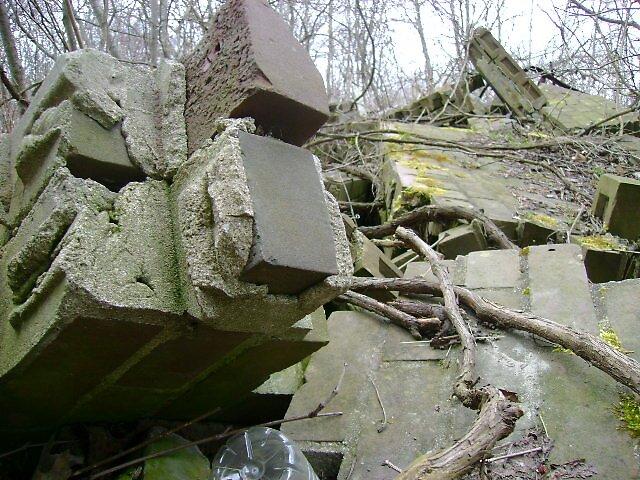 Broken building by Robert Lake