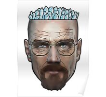 Breaking Bad - Walter White Meth Head Poster