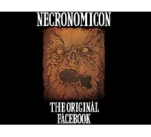 Necronomicon: The Original Facebook Photographic Print