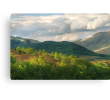 Gateway to the Highlands Canvas Print