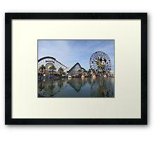 Paradise Pier Framed Print